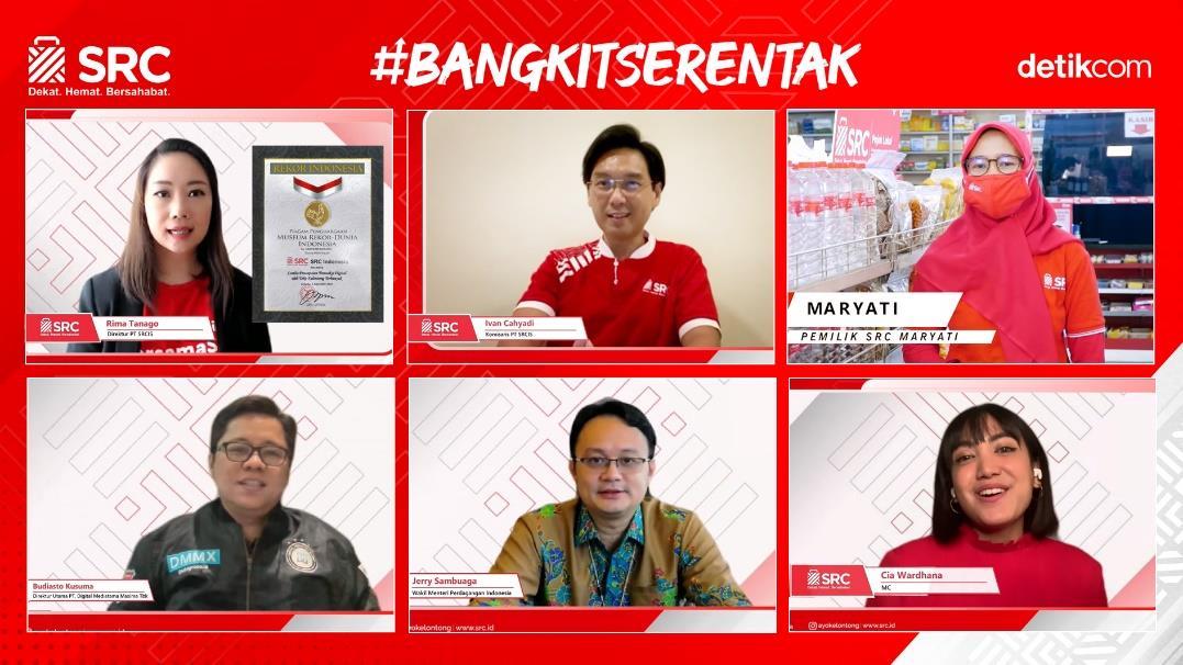 SRC PECAHKAN REKOR MURI TRANSAKSI DIGITAL TERBANYAK DI INDONESIA